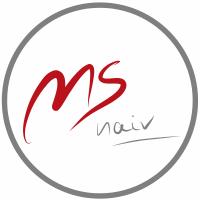 Logo: MS naiv